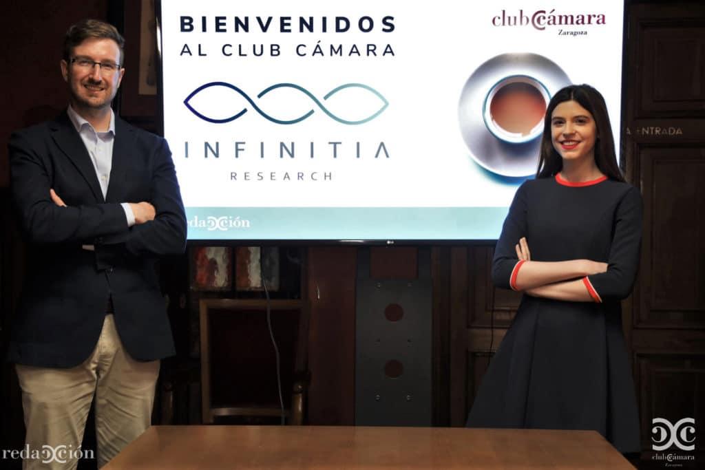 Entrevista. Infinitia en Cámara de Comercio de Zaragoza