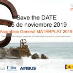 Infinitia en la Asamblea General de MATERPLAT (Plataforma Tecnológica Española de Materiales Avanzados y Nanomateriales)