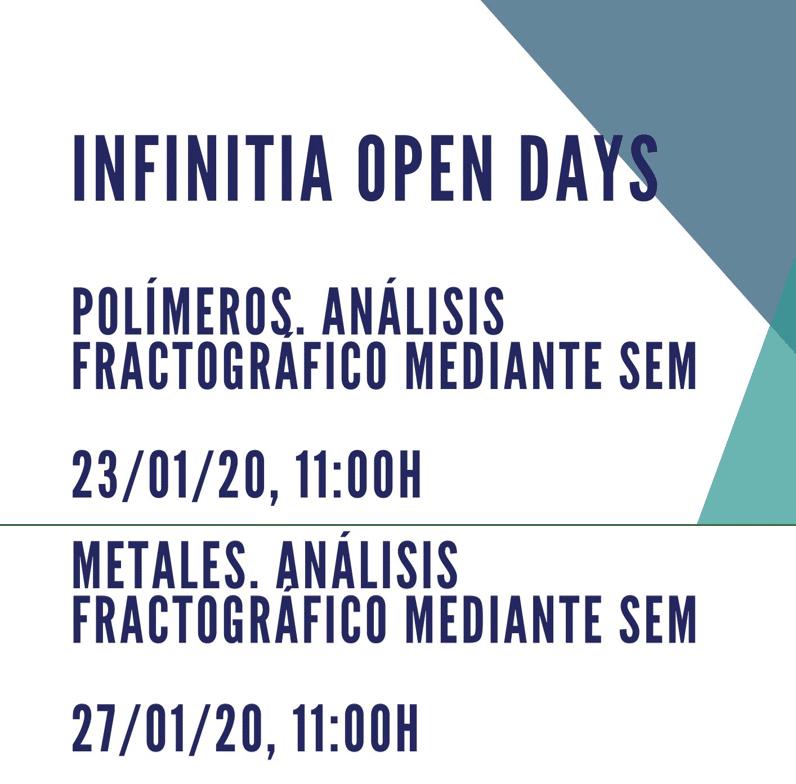 INFINITIA OPEN DAYS. ANÁLISIS FRACTOGRÁFICO MEDIANTE SEM DE POLÍMEROS/METALES