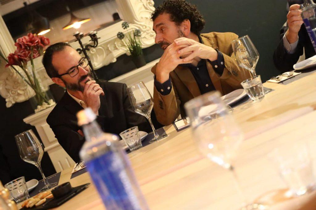3 3 Infinitia en La Mafia se sienta a la mesa y Cámara de Comercio de Zaragoza