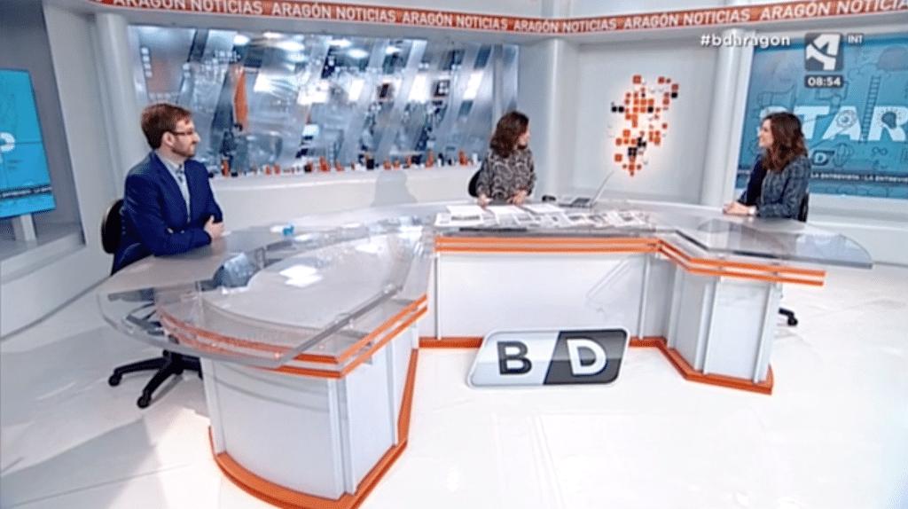Infinitia en Aragón TV