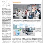 Innovación en unidades móviles covid, Heraldo de Aragón