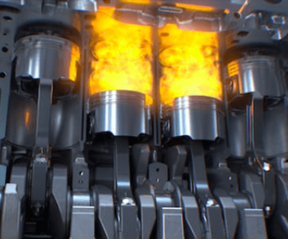 Characterization of gases released in combustion processes