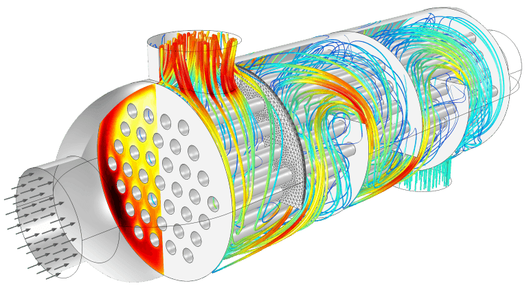 3 2 Fluid dynamic simulation for the design of a compact, high power aeration device