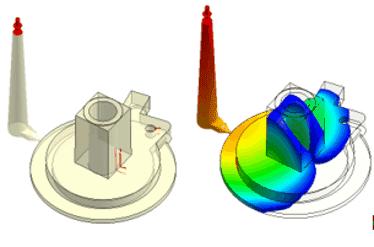 Imagen3 2 Simulación de inyección de plásticos para predecir defectos en fabricación en componentes