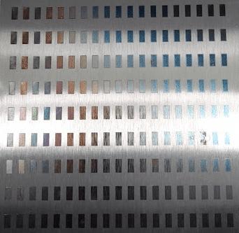 laser3 Nuevas formas de dar color al metal mediante decoración láser